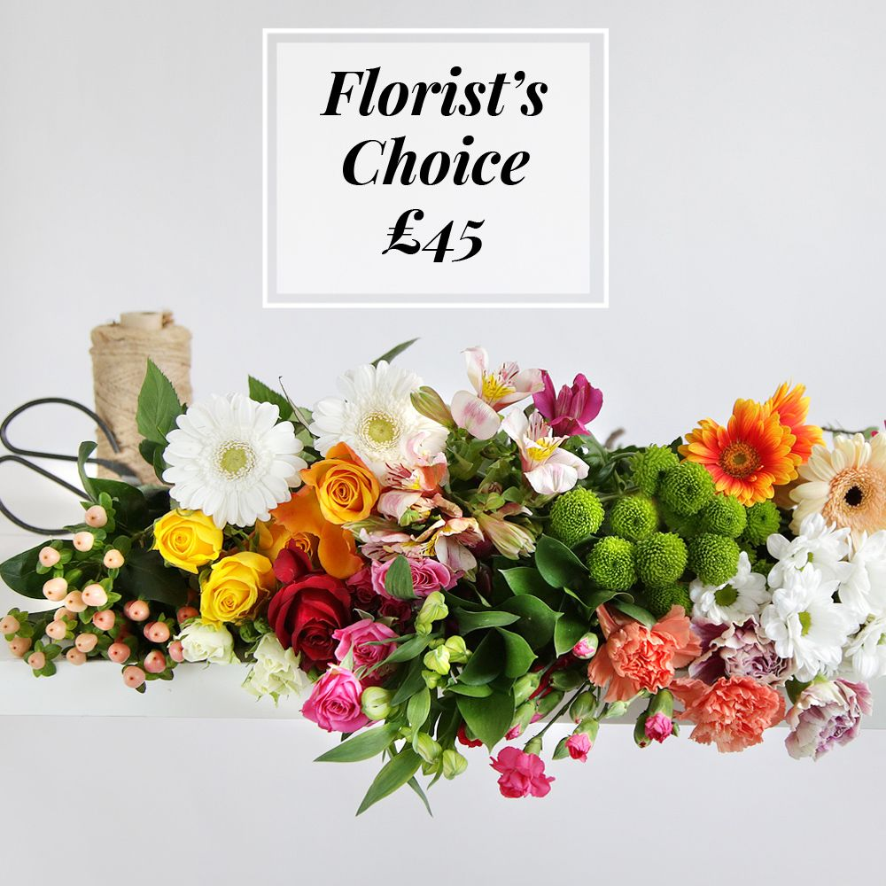 Florist's Choice £45 - flowers