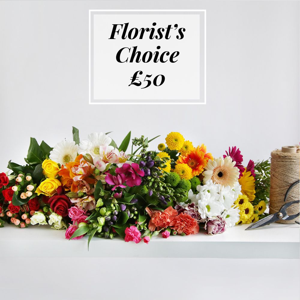 Florist's Choice £50 - flowers