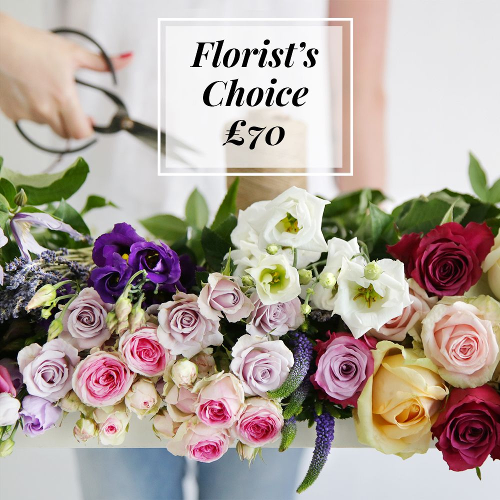 Florist's Choice £70 - flowers