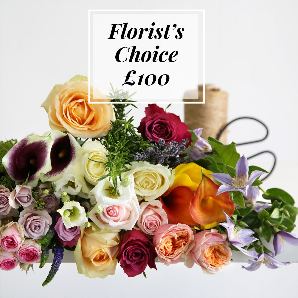 Florist's Choice £100 - flowers