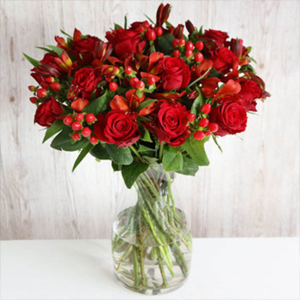 Click to view product details and reviews for Rated No1 Fairtrade Winter Berry Flowers.