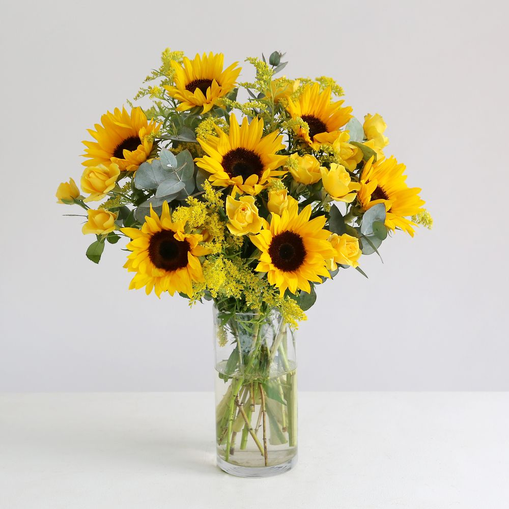 Fairtrade Sunshine Bouquet - flowers