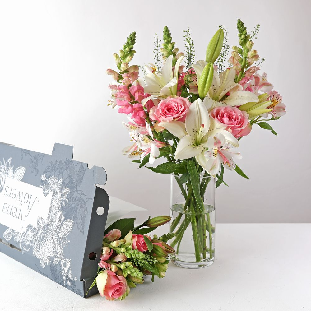 Letterbox Candyfloss - flowers