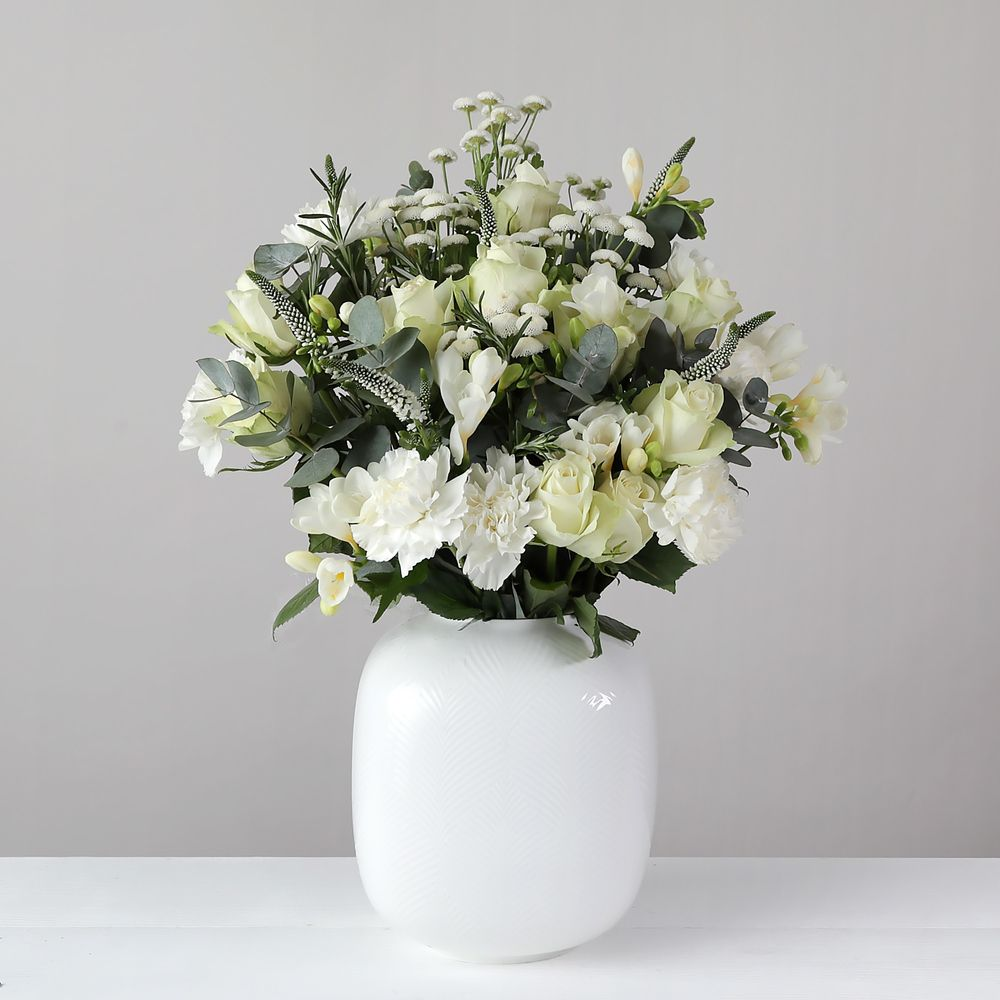 Pure White - flowers