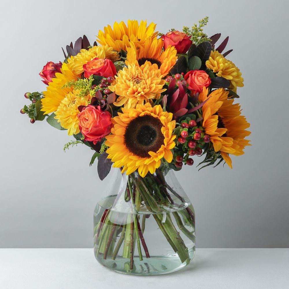 Golden Autumn - flowers