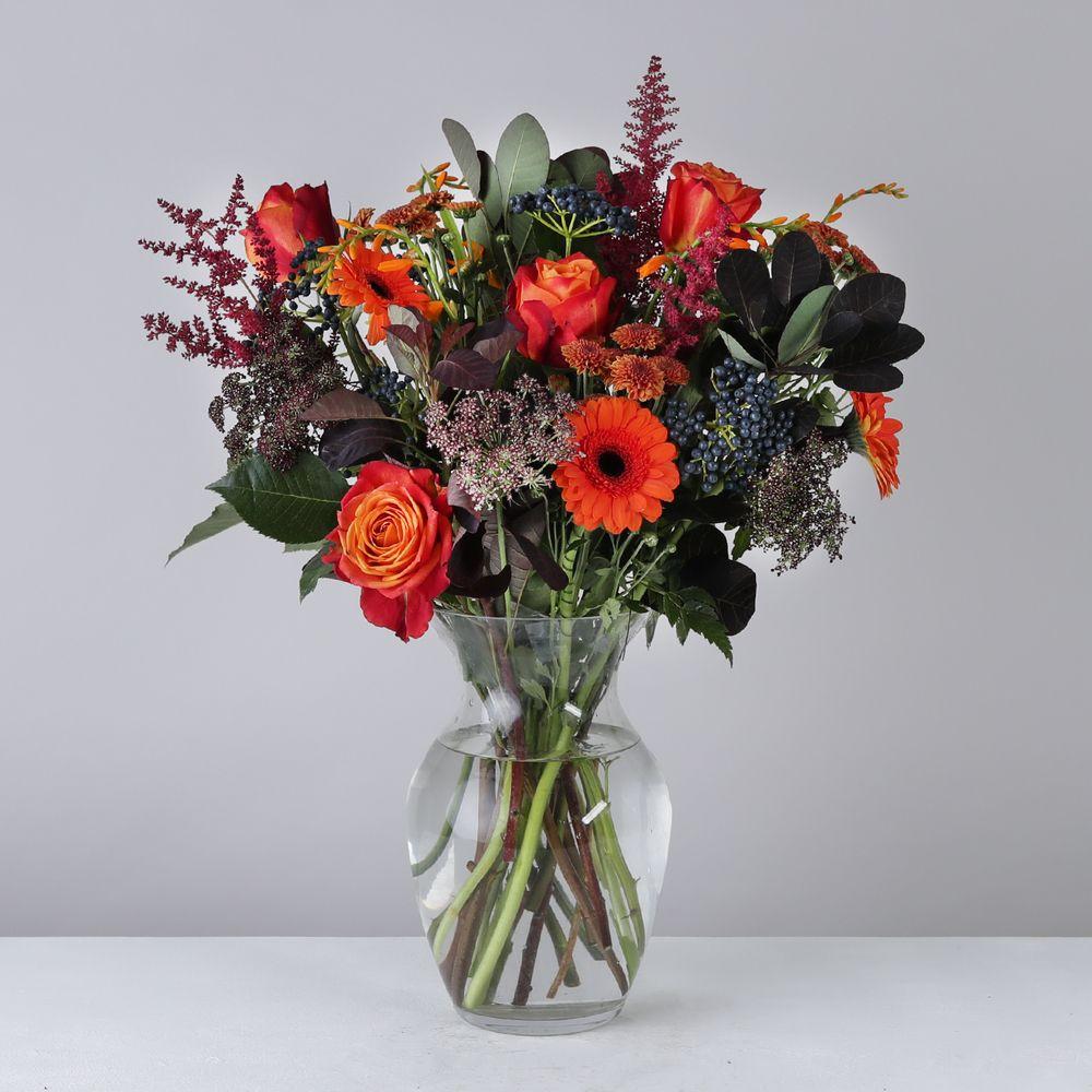 Autumnal Colours - flowers