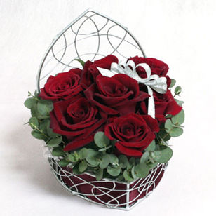 Rose Heart Arrangement