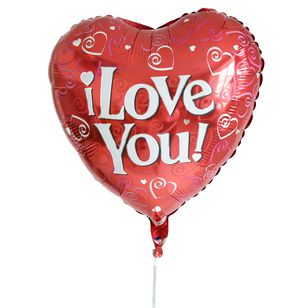Free Delivery I Love You Balloon