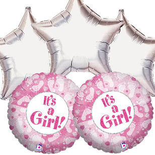 Baby Girl Balloon Giftset