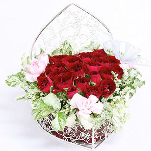 Designer's Arrangement Red