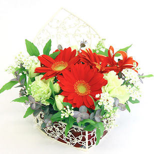 Arrangement Angel Heart Red