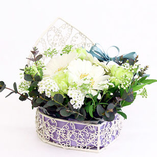 Arrangement Angel Heart White