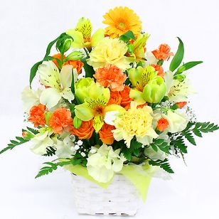 Arrangement Sweet Orange & Yellow