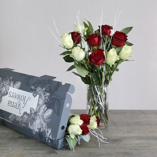 Fairtrade Letterbox Christmas Roses