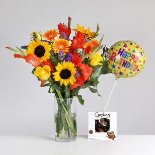 August Bouquet Gift Set
