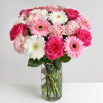 Strawberries & Cream Bouquet - flowers
