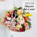Flowers For A Year | Silver Collection - flowers