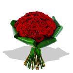 Mass of Red Roses - flowers