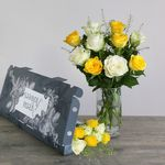 Letterbox Roses | Free Chocolate - flowers