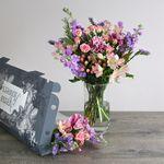 Summer Pastels Letterbox - flowers