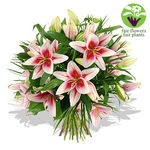 Pink Lily Bouquet - flowers