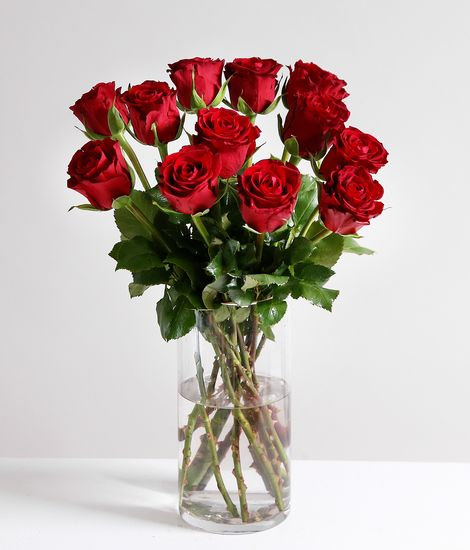 A DozenValentine's Red Roses