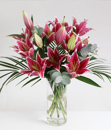 PinkOriental Lilies