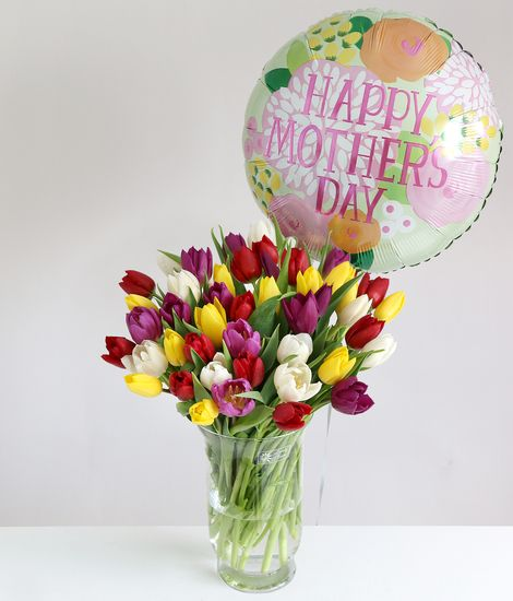 Mother's Day Tulips Gift Set