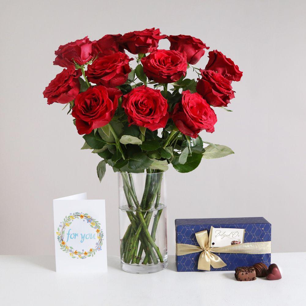 Image of Romantic Gift Set - flowers