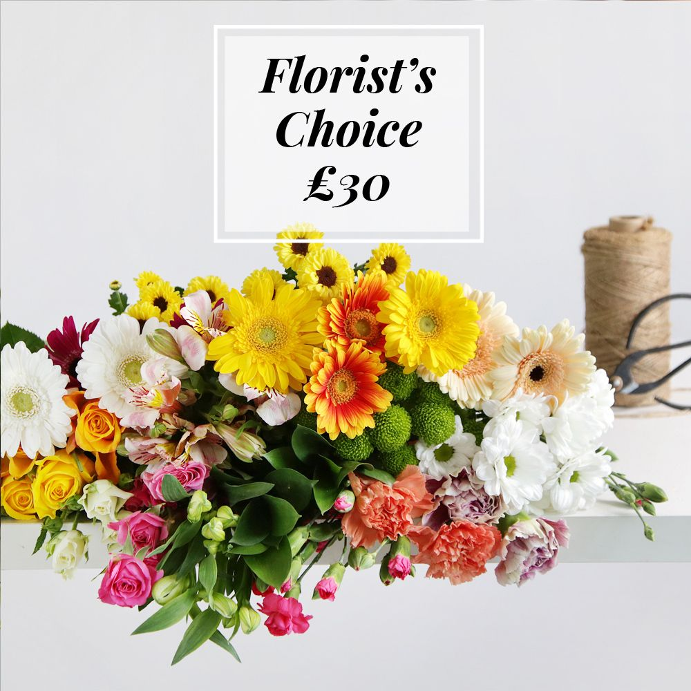 Image of Florist's Choice £30 - flowers