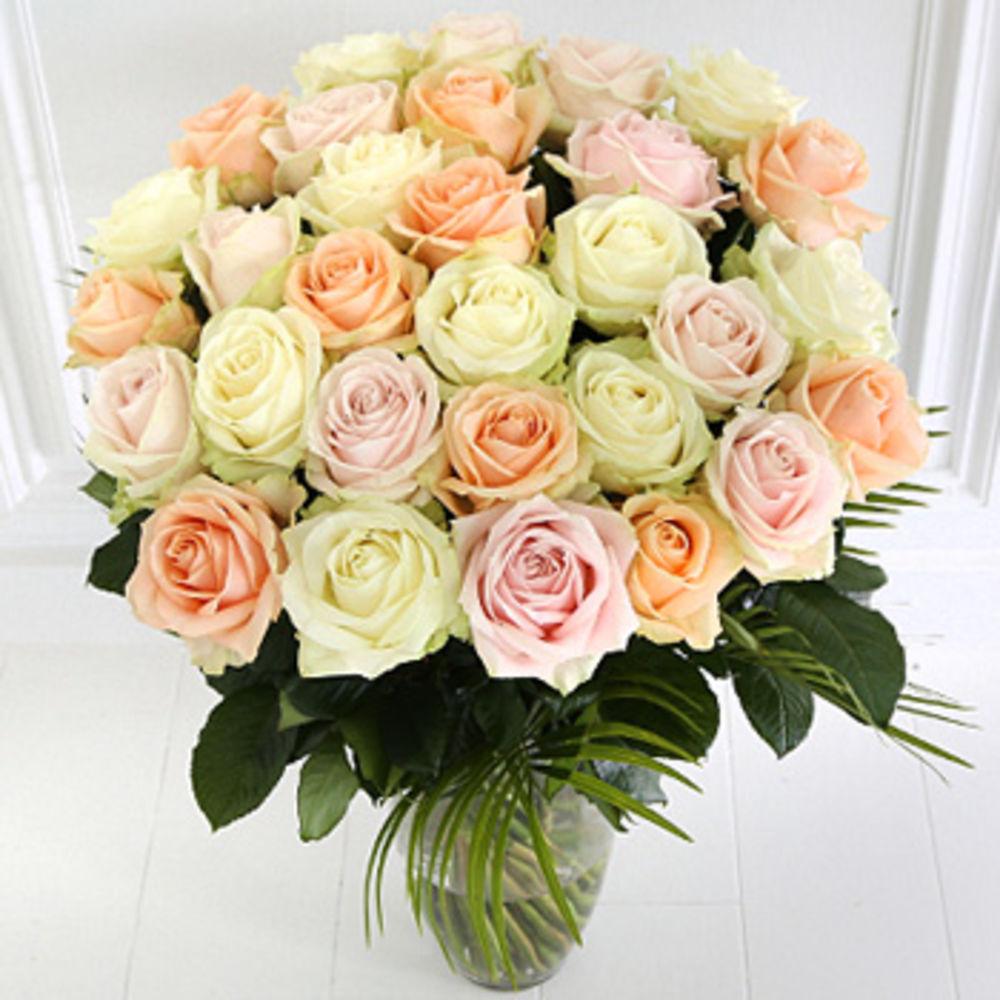 Image of Premium Rose Bouquet - flowers