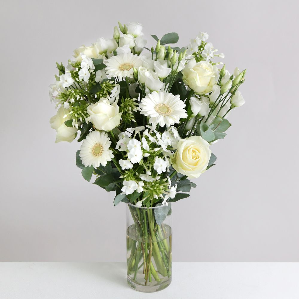 Image of Purity - flowers