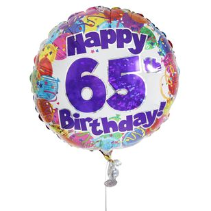 65th Birthday Balloon