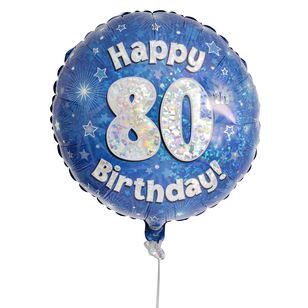 80th Birthday Balloon