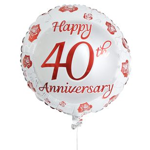 40th Anniversary Balloon