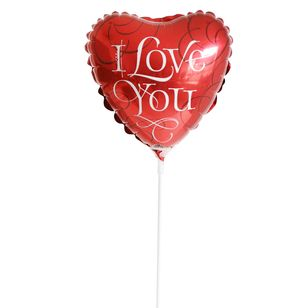 Mini I Love You Balloon