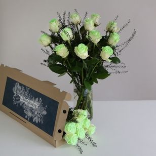 Glow in the Dark Letterbox Roses | Free Chocolate